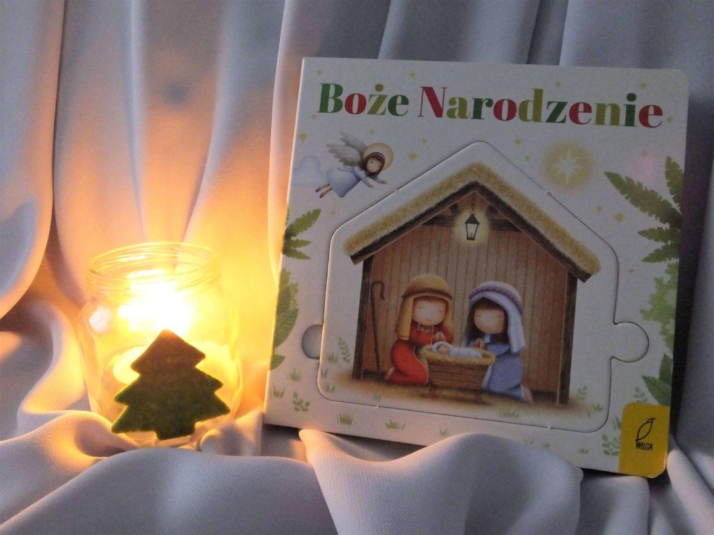"""Okładka książki """"Czytanka-układanka. Boże Narodzenie"""""""