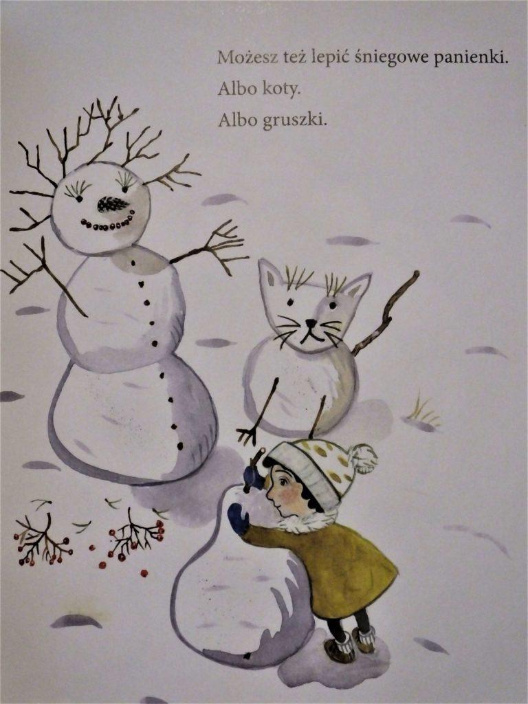 """""""O zimie"""", możesz lepić śnieżne kształty"""