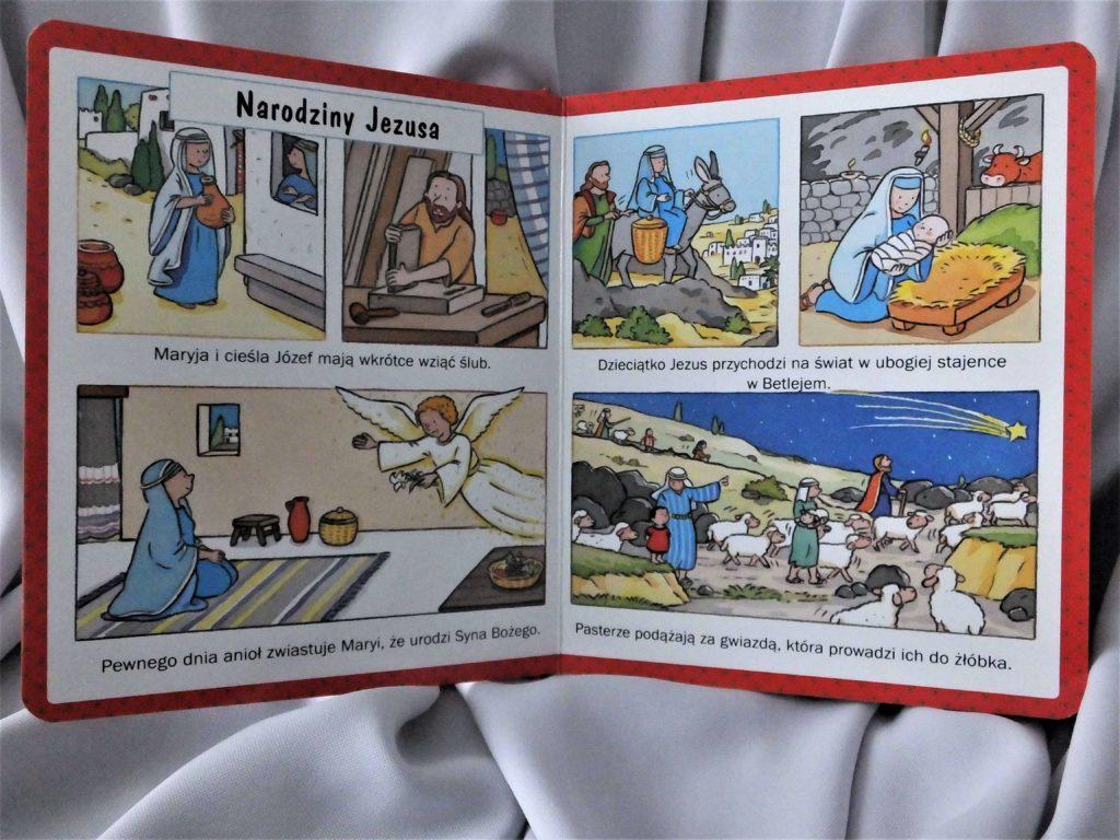 """""""Obrazki dla maluchów. Boże Narodzenie"""". Narodziny Jezusa"""