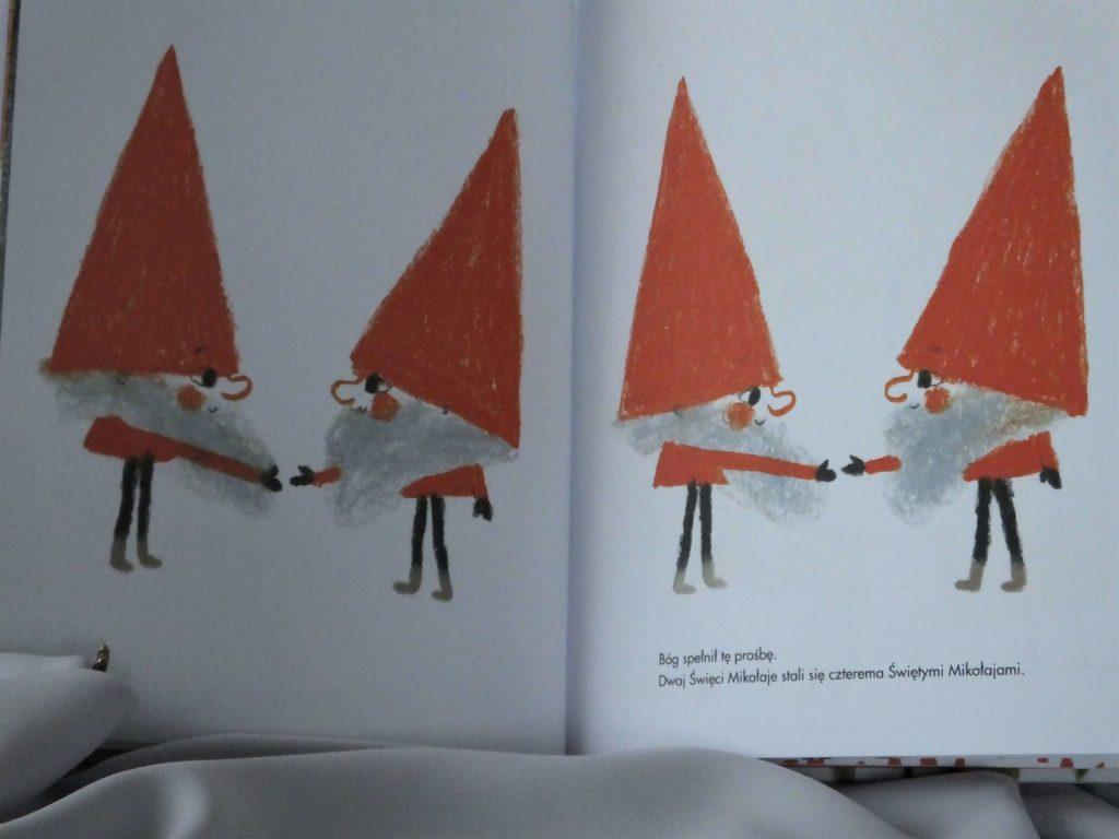 dwóch Świętych Mikołajów