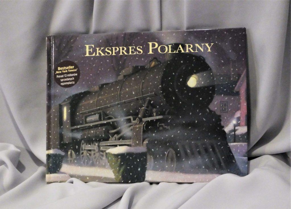"""Okładka książki """"Ekspres polarny"""""""