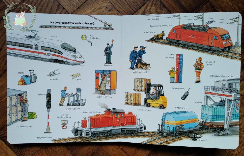 """""""Moje pierwsze podróże pociągiem""""na dworcu można dużo zobaczyć"""