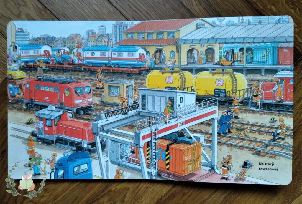 """""""Moje pierwsze podróże pociągiem"""" na stacji towarowej"""