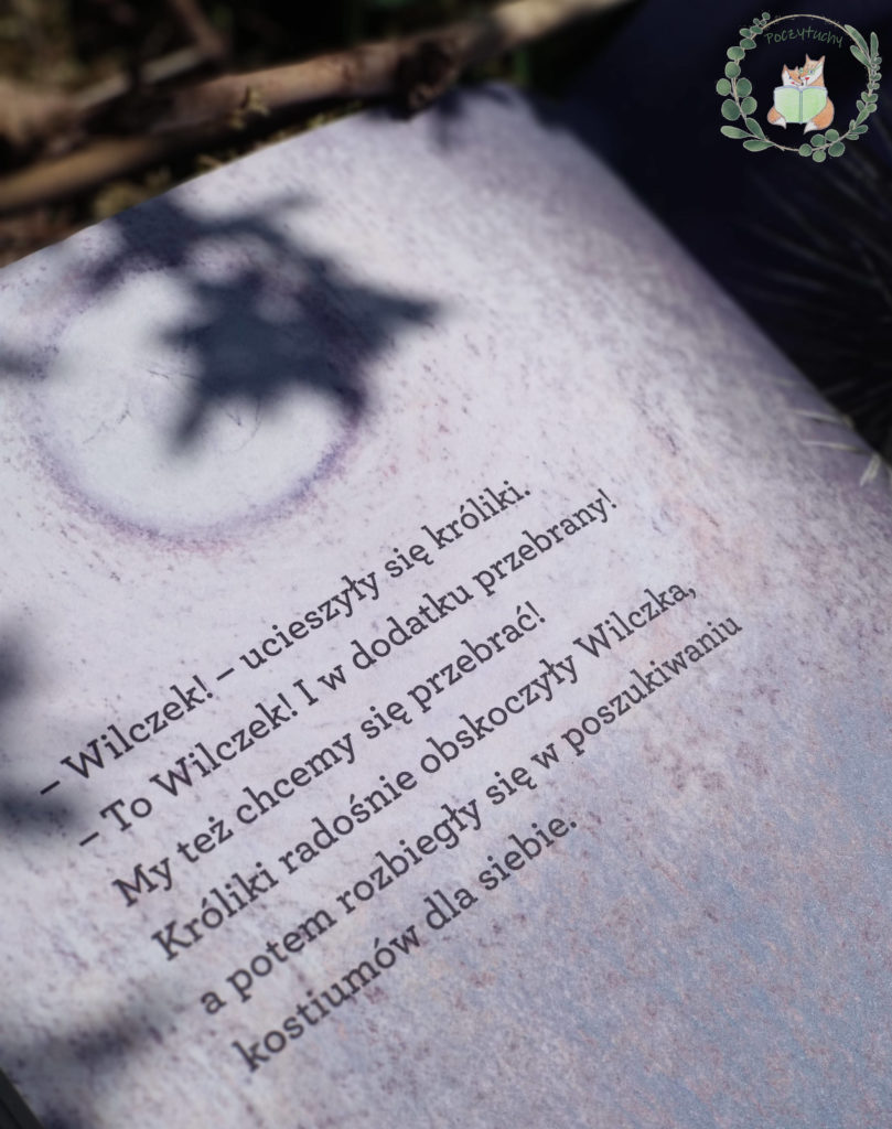 """Fragment książki """"Wilczek"""""""